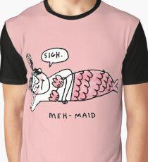 Mehmaid Parody Graphic T-Shirt