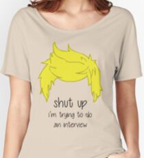 shut up i'm trying to do an interview - Niall Women's Relaxed Fit T-Shirt