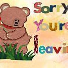 Sorry you're leaving  by Ann12art