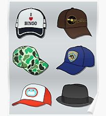 All The Hats! Poster
