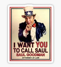 You Better Call Saul Sticker