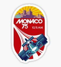 Pegatina Mónaco 75