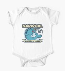 Narwhal Unicorn Of The Sea Kids Clothes