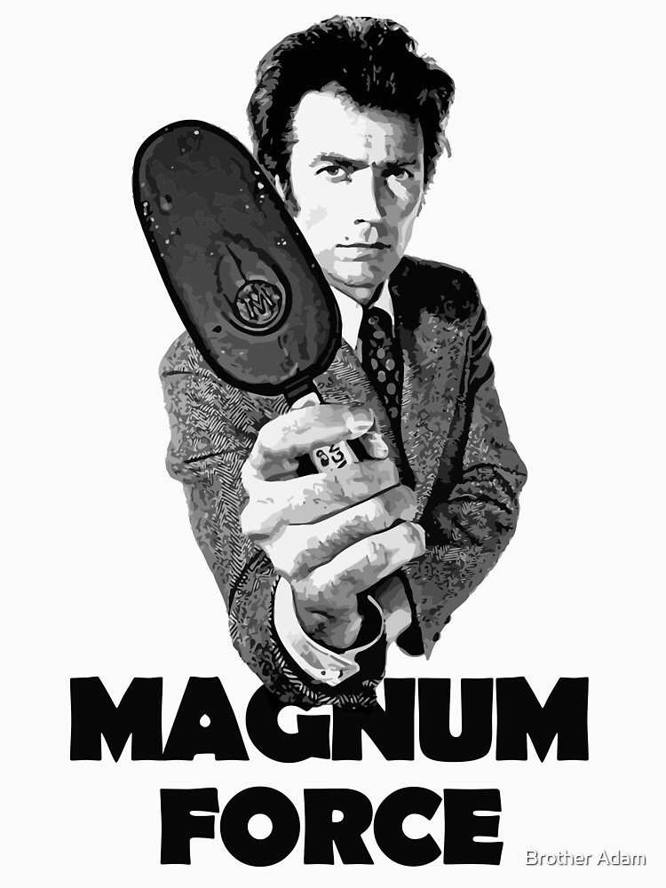Dirty Harry Magnum Force by atartist