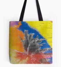 Coconut Tree Pop Art Retro Tropical Vintage Palm Tote Bag