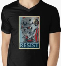 RESIST - Terminator Salvation Mens V-Neck T-Shirt