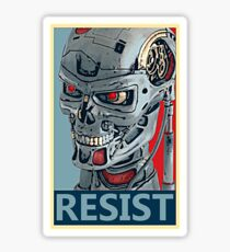 RESIST - Terminator Salvation Sticker