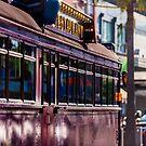 Melbourne Restaurant Tram by Adam Calaitzis