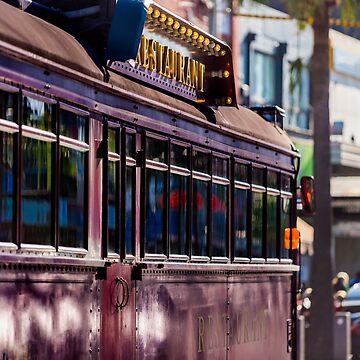 Melbourne Restaurant Tram by adamcal