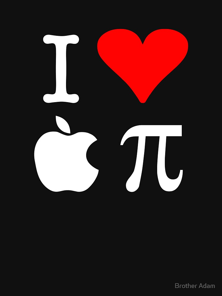 I Love Apple Pi by atartist