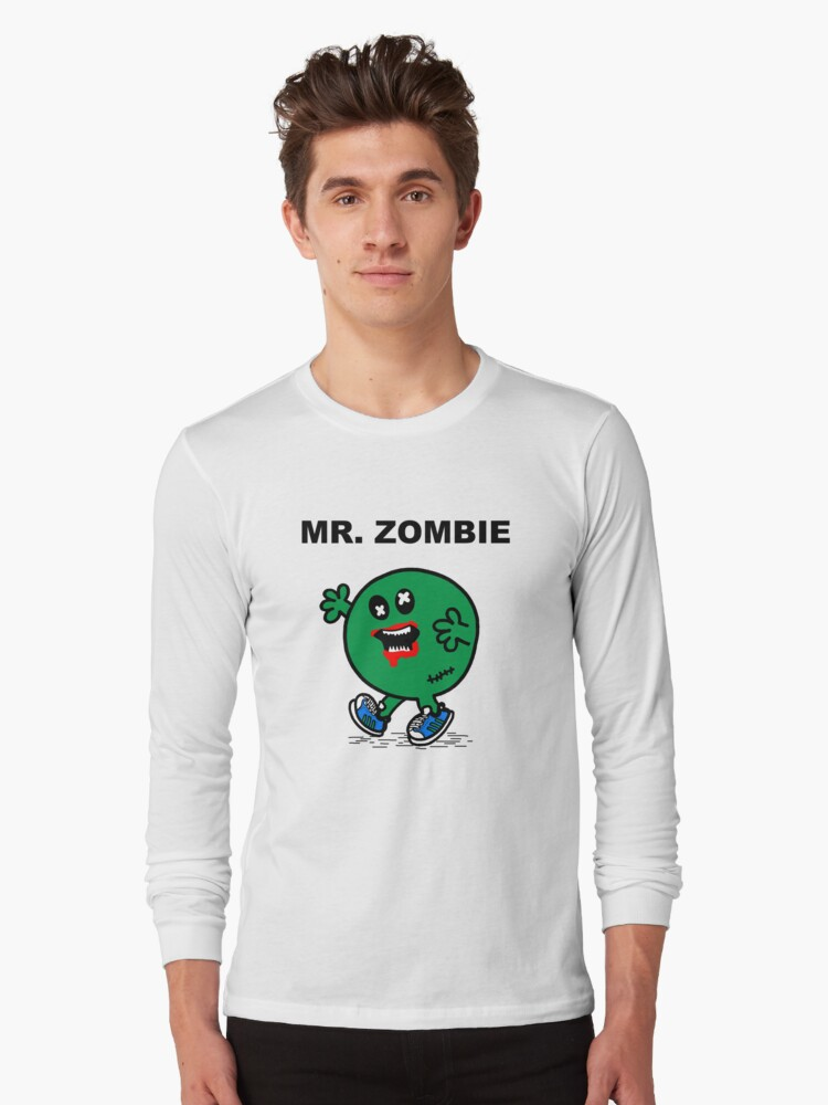 Mr Zombie Long Sleeve T-Shirt Front