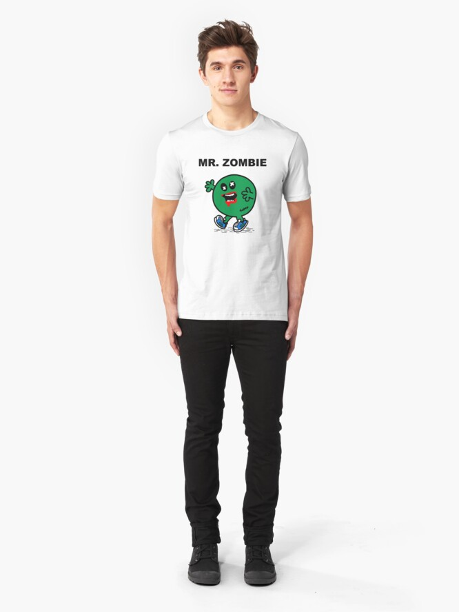 Alternate view of Mr Zombie Slim Fit T-Shirt