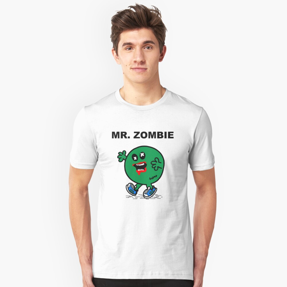 Mr Zombie Slim Fit T-Shirt