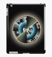 Abstract technology computer generated fractal  iPad Case/Skin