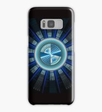 Abstract technology computer generated fractal  Samsung Galaxy Case/Skin