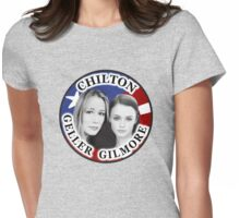 Geller Gilmore Chilton Election Button Womens Fitted T-Shirt
