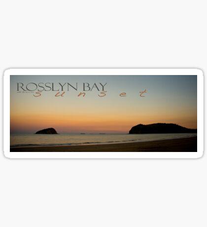 Rosslyn Bay Sunset © Vicki Ferrari Sticker