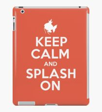 Pokemon - Keep Calm and Splash On - Magikarp Design iPad Case/Skin