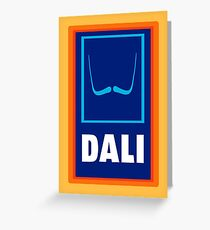 Dali  Greeting Card