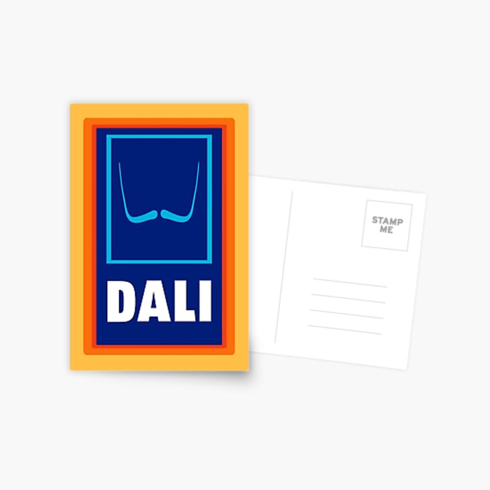 Dali  Postcard