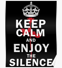 KEEP THE SILENCE ROSE Poster