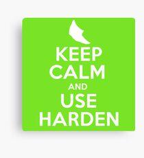 Pokemon - Keep Calm and Use Harden - Metapod Design Canvas Print