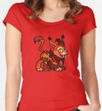 Wind Rider Cub Women's Fitted Scoop T-Shirt