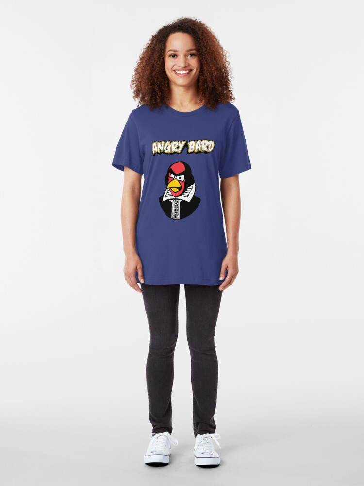 Alternate view of Angry Bard Slim Fit T-Shirt