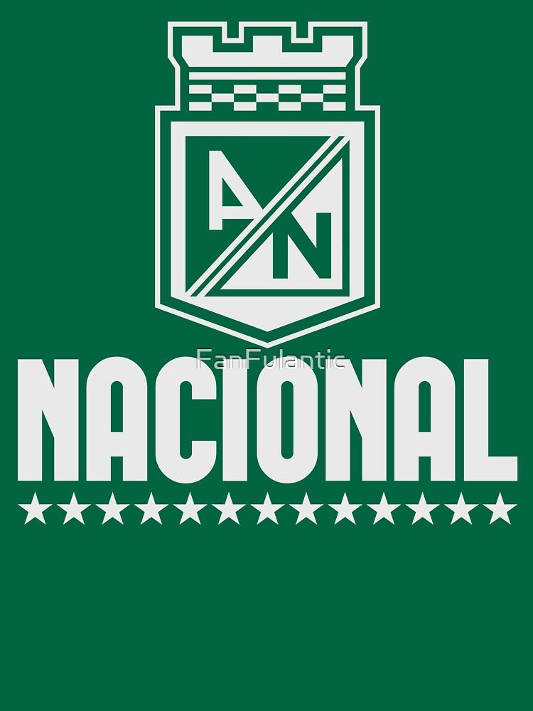 Atletico Nacional Colombia Medellin Futbol Soccer Camiseta Postobon By Fanfulantic
