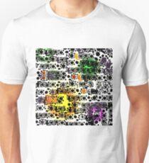 Shapes colour splash Unisex T-Shirt