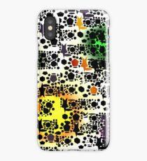 Shapes colour splash iPhone Case/Skin