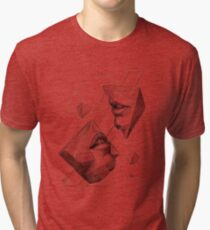 Geometric Surrealism Tri-blend T-Shirt