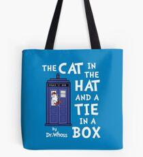 The Cat in the Hat and a Tie in a Box Tote Bag