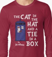 The Cat in the Hat and a Tie in a Box T-Shirt