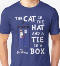 The Cat in the Hat and a Tie in a Box Unisex T-Shirt