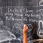 sticks and stones life insurance by Matsumoto