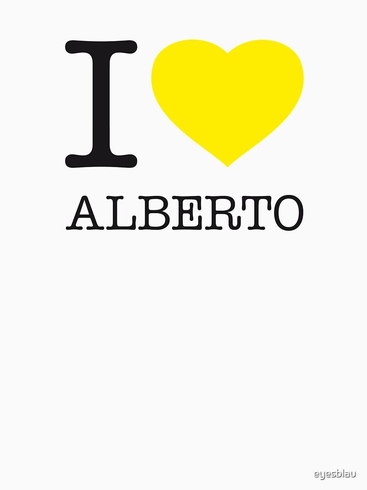 I ♥ ALBERTO by eyesblau