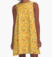Fantastic Mr. Fox  A-Line Dress