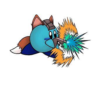 Kirby Fox by SybawavesGirl