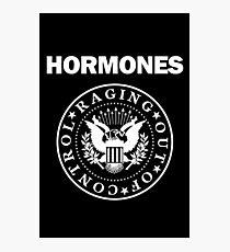 Raging Hormones Photographic Print
