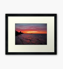 Dreams as Vast as the View Framed Print
