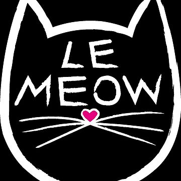 Le Meow Black by trossi