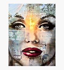 White Marilyn Photographic Print