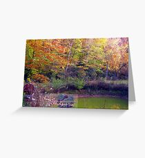 colors of home Greeting Card