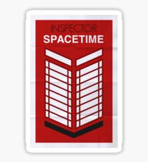 Inspector Spacetime Sticker