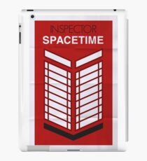 Inspector Spacetime iPad Case/Skin