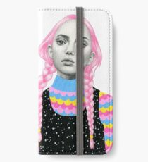 Plaited Twins iPhone Wallet/Case/Skin