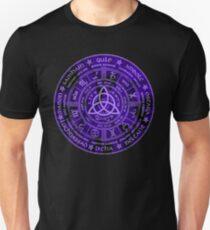 Camiseta ajustada Celtic Pagan Year Wheel Calendar