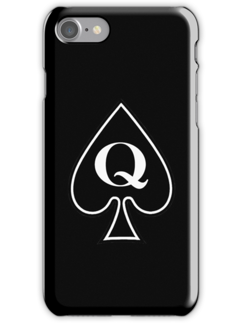 Queen of Spades Gifts and Products by Mark Podger