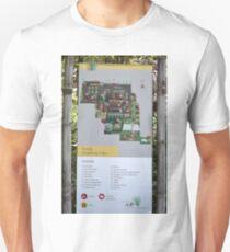 saung angklung udjo area map sign Unisex T-Shirt